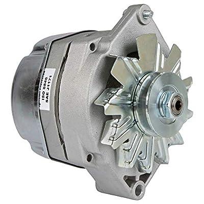 Db Electrical Adr0334 Alternator For 105 Amp Delco Marine Mercruiser 1-Wire, MERCRUISER 198 215 228 233 255 270 120 270 1-Wire, Volvo Penta 1-Wire, OMC 1-Wire