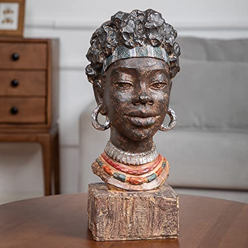 African woman statue _image0