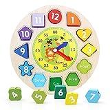 juguete de Reloj de Madera Reloj de alarma digital Cuentas de...