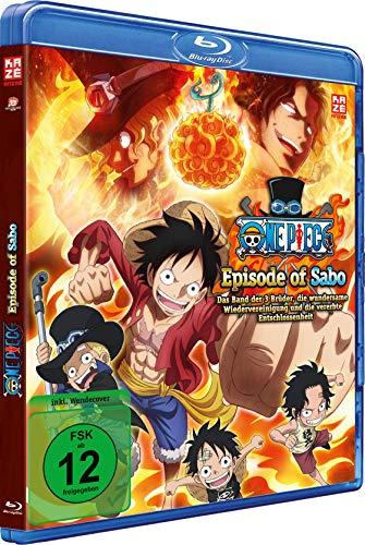 One Piece - TV Special: Episode of Sabo - Das Band der 3 Brüder - Die wundersame Wiedervereinigung und die vererbte Entschlossenheit - Vol.6 - [Blu-ray]