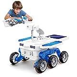 Seamuing STEM - Juego de construcción solar para coche, kit de ciencia pedagógica, juguete para bricolaje, alimentado por pilas o solar, juguete para niños y niñas durante 5 años