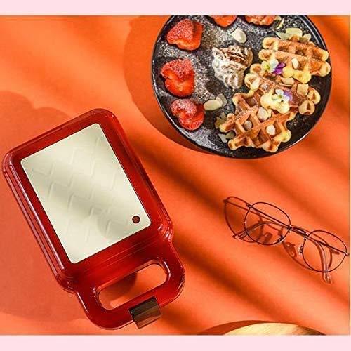CattleBie Brotbackautomaten, Sandwich-Maschine Licht Lebensmittel-Maschine Automatische Frühstück Maschine Waffel Brot-Maschine Haushalt Multifunktionale Haushalt, Removable Backblech Antihaft-Pfanne