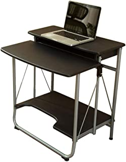 WZHZJ Height Sit Stand Workstation, Mobile Standing Desk, Stand Up Computer Desk with Dual Surface for Home Office