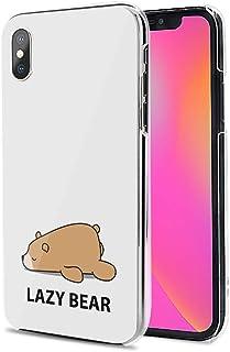 Huawei P40 Pro 5G ケース カバー スマホケース ハード TPU 素材 おしゃれ かわいい 耐衝撃 花柄 人気 全機種対応 怠惰な熊 かわいい アニマル アニメ 9795768