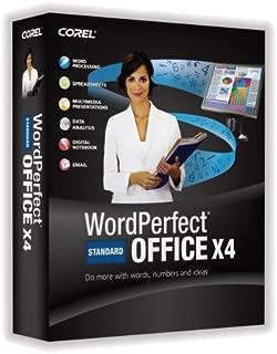 Wordperfect Office X4 Standard Upgrade [OLD VERSION]