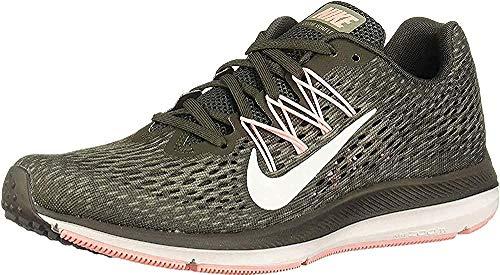 Nike Women's Air Zoom Winflo 5 Running Shoe, Black/Anthracite, 8