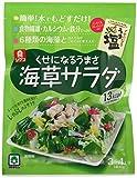 リケン さっぱりおいしい海草サラダ ノンオイルうま塩ドレッシング付 袋40g