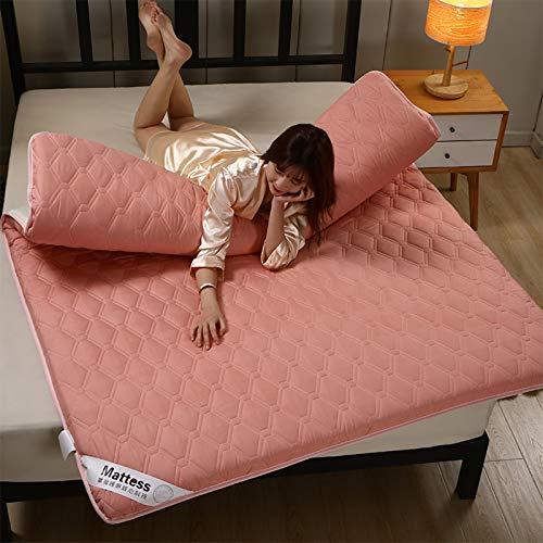 LXSHMF Tatami Cama Colchones Anti-resbalón Plegables Colchón De Futón Soltero Doble Colchón Piso Colchoneta De Dormir para Salón Dormitorio