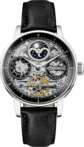 Ingersoll The Jazz Mens Automatic Watch I07701 with a Black Dial and...