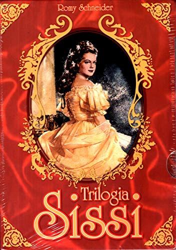 Box Trilogia Sissi - 3 DVDs - ( Sissi Trilogy ) Ernst Marischka.