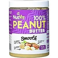 NutVit Crema de cacahuete - 1Kg - Sabor Smooth