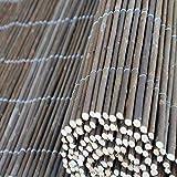 Top-Multi Weidenmatte Weidenzaun Sichtschutz Größe 1,0m x 5,0m