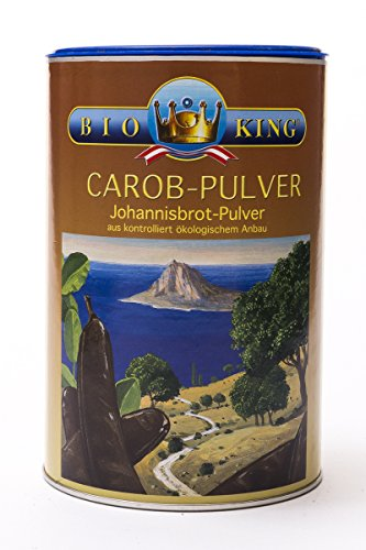 BioKing 3x 500g BIO CAROB-Pulver, Johannisbrot-Pulver (EUR 5,49 / Dose)
