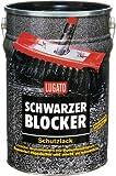 Lugato Schwarzer Blocker Schutzlack 10 l - Bitumenanstrich für Dach und Keller