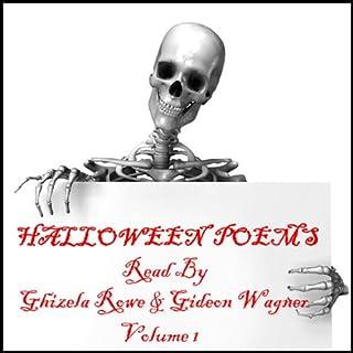 Halloween Poems Volume 1 cover art