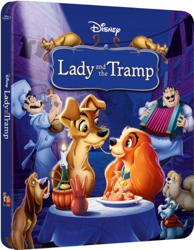 Susi und Strolch Lady and the Tramp Limited Exclusive Steelbook Blu-Ray (UK-Import ohne deutschen Ton)