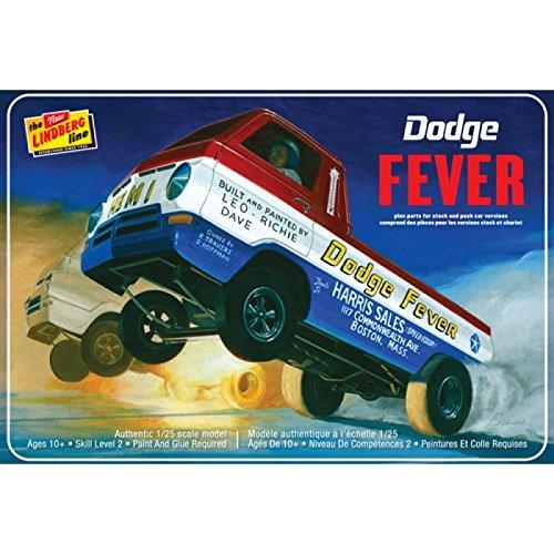 Lindberg Models Ln135 Échelle 1 : 25 Modèle Dodge Fever Roue Stander