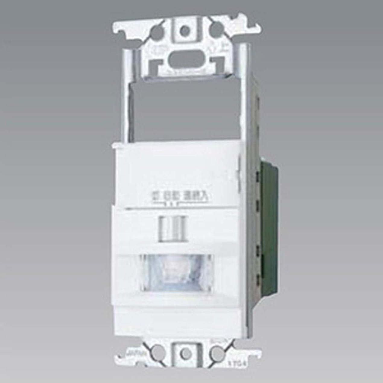 社交的ベッド森林パナソニック 壁取付熱線センサ付自動スイッチ スイッチスペース付 ホワイト WTK18115WK