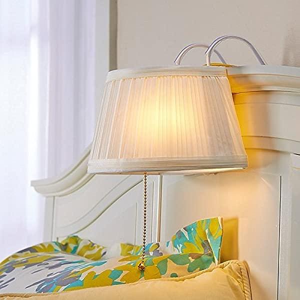 Kovot Headboard Lamp Light Cream White Bedtime Reading Light Lamp Measures 11 L X 8 1 4 W X 7 H 1