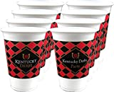 Westrick Kentucky Derby 16 oz Beverage Cups - Economy Package of 24 Cups