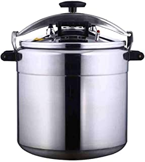 Pressure cooker commercial explosion-proof pressure cooker household/commercial non-stick cookware multifunctional aluminum alloy cooking open flame gas stove general pressure cooker 3-70L