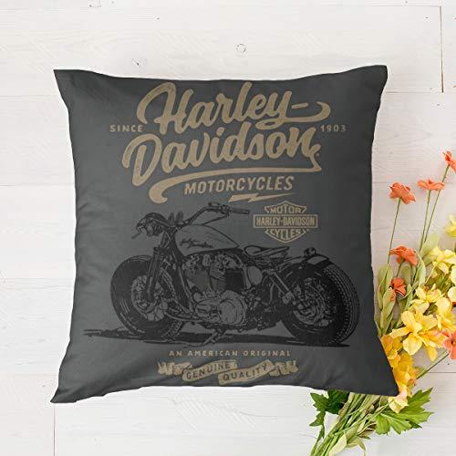 Harley Davidson almohada mejor para dormir laterales/pierna inferior/espalda/cadera/rodilla/articulación-espuma viscoelástica contorno pierna almohada con funda lavable