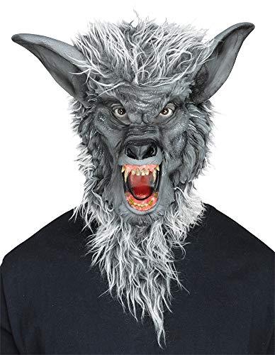 Werewolf Mask Fancy Dress