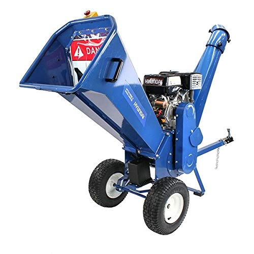 Hyundai HYCH1500E-2 420 cc Petrol 4-Stroke Wood Chipper/Shredder/Mulcher
