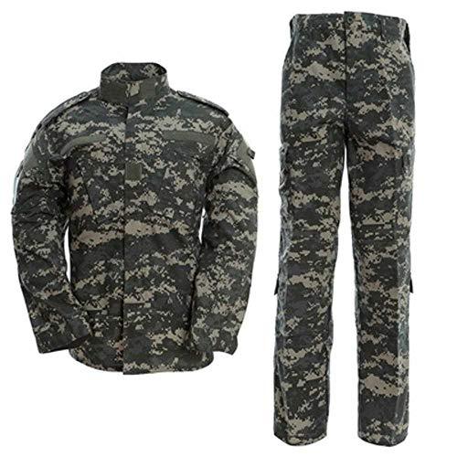 Militär-Kampfanzug 2020 Militär-Camouflage Multicam Anzug Kleidung Taktische Airsoft Paintball Ausrüstung Gr. Medium, Asu