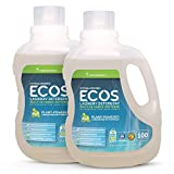 Earth Friendly Products ECOS 2X Liquid Laundry Detergent with Built in...