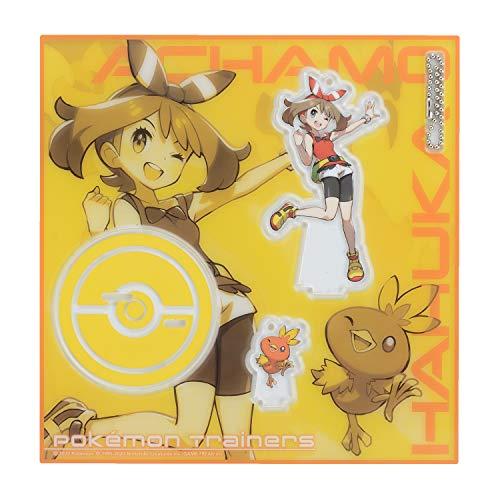 ポケモンセンターオリジナル アクリルスタンドキーホルダー Pokémon Trainers ハルカ&アチャモ