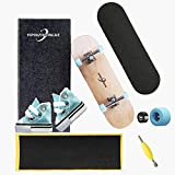 YIPINZHONGKE Mini Tech Deck Braille Fingerboard Skateboardspark,...