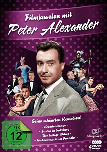 Filmjuwelen mit Peter Alexander: Seine schönsten Komödien! [4 DVDs]