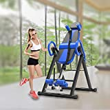 Gravity Inversion Table - Upside Down Machine - Heavy Duty - Gym Fitness