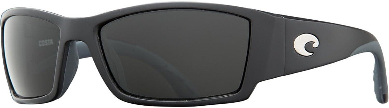 Costa Del Mar Corbina Black W  Grey Polarized 580G Glass Lens Sunglasses