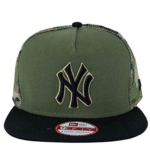 A NEW ERA Era Gorra Snapback, MLB 9Fifty NY Yankees Camuflaje Malla, B