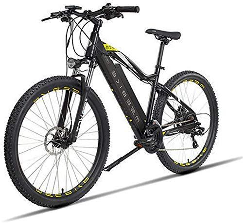 Bicicletas eléctricas para adultos 27,5 pulgadas de bicicletas de montaña 48V Eléctrica en la batería de litio for adultos 400W Urbano Tráfico bicicleta eléctrica extraíble, los cambios de 21 velocida