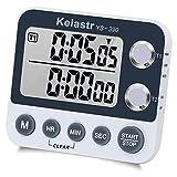 Digital Kitchen Timer Magnetic Back,Cooking Timer,Large Display Loud Alarm...