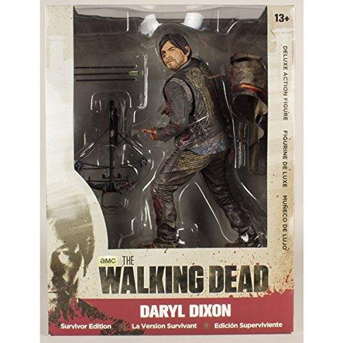 Mc Farlane - Figurine Walking Dead - Daryl Dixon Mc Farlane Survivor Edition 25cm - 3700936102706