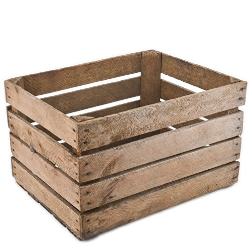 Caja de madera vintage 40x 50x 30cm Madera Antiguo decorativo caja Nostalgie cajón-estantería fruta (