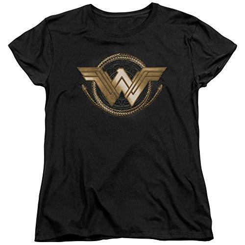 Trevco Womens: Wonder Woman Movie - Lasso Logo Ladies T-Shirt Size XL