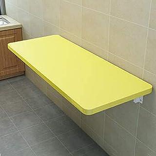ZCYY Table Murale, Table Pliante Murale, Bureau d'ordinateur Portable pour Petit Espace, Table à Manger de Cuisine, Bureau...
