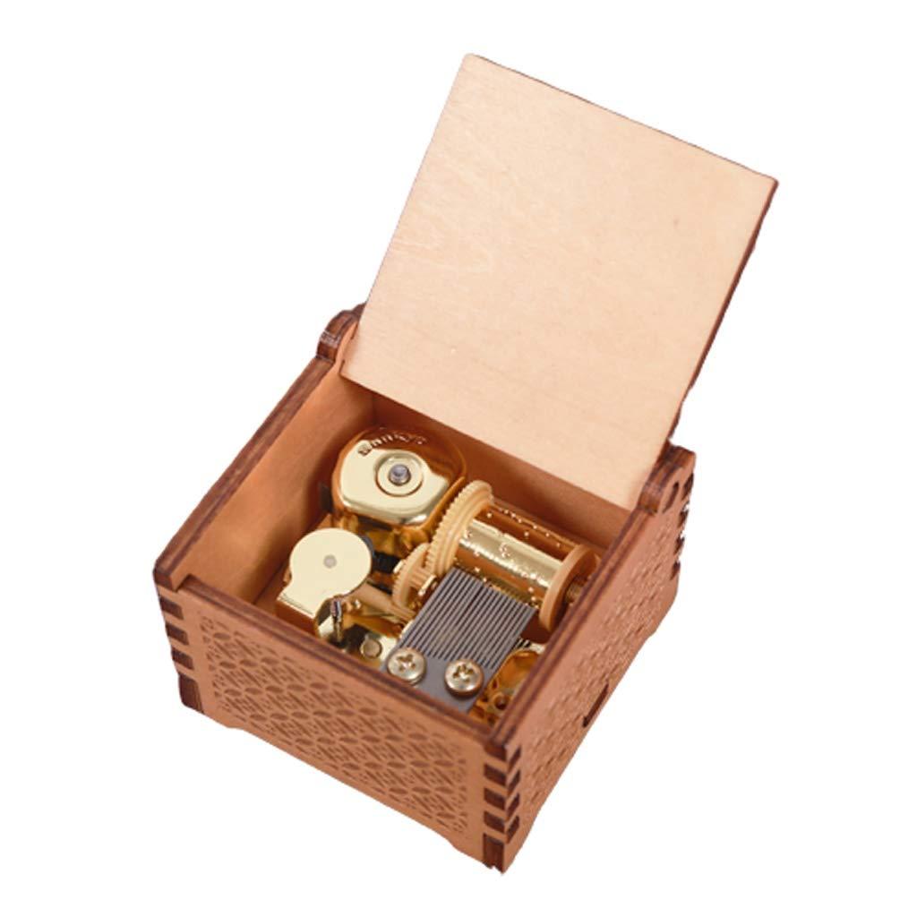 Liutao Musical Box Harry Potter Música Caja de Madera mecánica Movimiento Caja de música Regalo Creativo de Hombres y Mujeres de cumpleaños 520 Muchachas del Regalo: Amazon.es: Hogar
