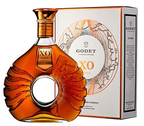 Godet XO TERRE mit Geschenkverpackung Cognac (1 x 0.7 l)