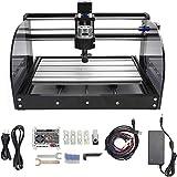 RATTMMOTOR CNC 3018 Pro Max - Macchina per incisioni a 3 assi GRBL controllo ER11 per legno PVC PCB DIY Engraver