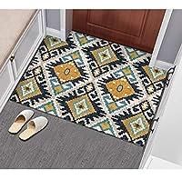 カーペット ラグ 玄関マット エントランスマット 廊下敷き カーペット インテリア 北欧 シンプル 傷防止 洗える 軽量 足触り 敷物 長方形 おしゃれ 廊下 カラー 寝室 滑り止め デスク マット 絨毯 ラグマット 80*160cm