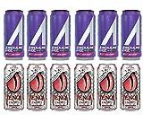 LUV BOX- variety Energy drink 16 oz. pack of 12 , Adrenaline Shoc Smart Energy Acai perry, VENOM LOW CALORIE STRAWBERRY APPLE ENERGY DRINK. #N