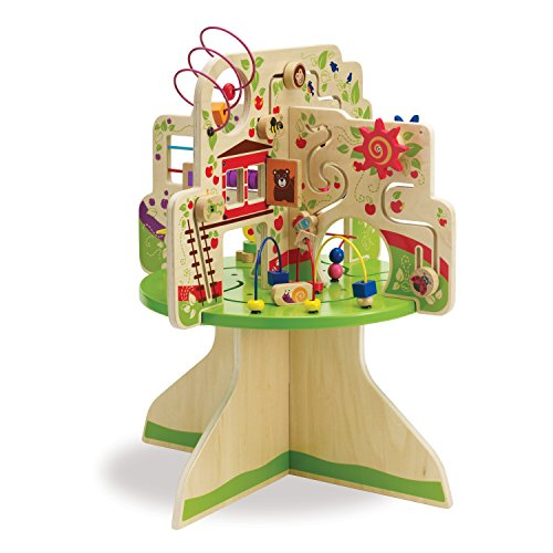 Best wooden baby activity center