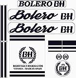 Kit de adhesivos motos clasicas BH Bolero - Juego Pegatinas Completo - Vinilo para Moto, máxima Calidad.