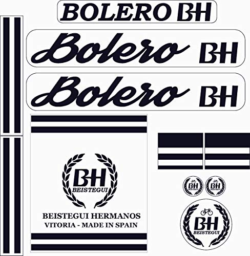 Kit de adhesivos motos clasicas BH Bolero - Juego Pegatinas Completo - Vinilo para Moto, máxima...